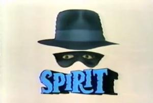 The Spirit 1987 title screen
