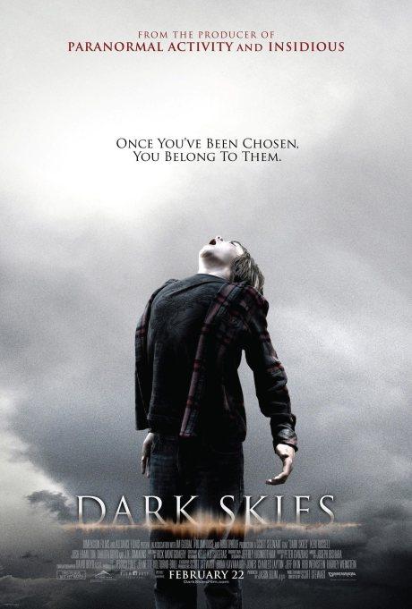 Dark Skies movie poster