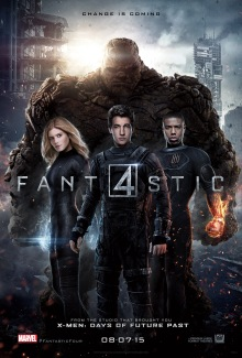 Fantastic Four 2015 movie poster