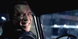 Terminator Genisys Arnold smile