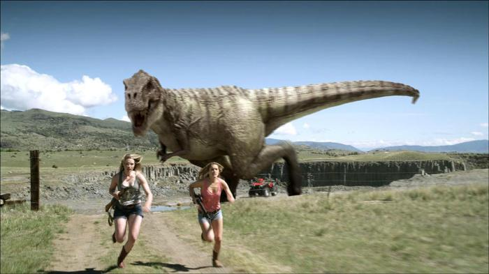 Cowboys vs Dinosaurs image 1