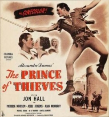 Prince of Thieves poster