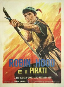 Robin Hood e i Pirati poster