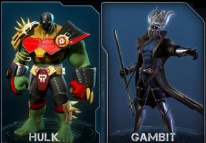 Example of how Apocalypse changes his Horsemen looks and powers.